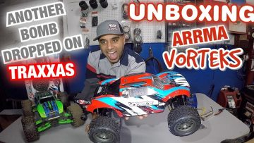 UnBoxing the Arrma Vorteks 3s 4×4 1/10 RC Truck | Another Bomb Dropped on Traxxas