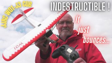 READY TO FLY JJRC W01-J3 RC CUB AEROPLANE | WE CRASHED IT…AND THEN CRASHED IT AGAIN…AND AGAIN !