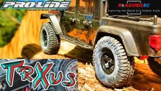 Proline Interco TrXus MT 1.9 RC Crawler Band | Volledige test |  Review