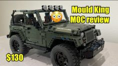 Mould King JEEP WRANGLER MOC legos EM PROFUNDIDADE real REVIEW