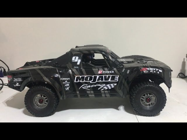Arrma Mojave EXB Tbone racing and dusty motor shroud