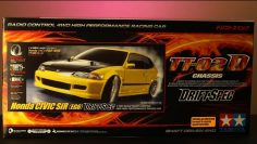 Tamiya 58637 Honda Civic SiR EG6 Drift Spec TT02D Unboxing