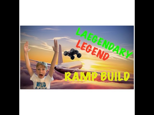 COHEN BUILDS A RAMP. CAN WE JUMP A HOUSE? LAEGENDARY LEGEND RC CAR