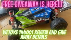 #wltoys #wltoys144001 Free giveaway Rc has arrived!! Unboxing review and details.