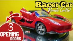 Mainan Mobil Remote Control R/C Ferrari FXX K RACE CAR with Opening Doors – Unboxing e Revisão