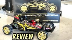 Fighter Buggy RX Memorial First Look & Revisión. Tamiya 25 aniversario DT-01 botiquín 47460