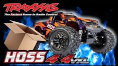 Checking Out The Hoss 4×4 VXL Monster Truck. Traxxas 1/10th RC RTR Unboxing & Bashing Review