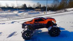 TRAXXAS X MAXX #HARDJUMPSESSION BEST RC CAR OF THE WORLD IM FORMAL NO CONCURENT NEAR ODER FAR