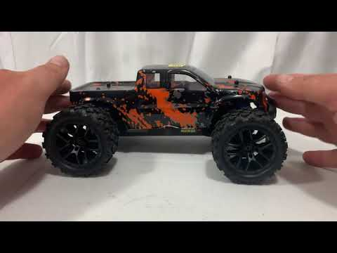 Haiboxing 18859 1_18 Scale RC Monster Truck Unboxing