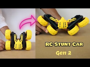 RC Stunt Car Unboxing and Test – S688 RC Stunt Car review