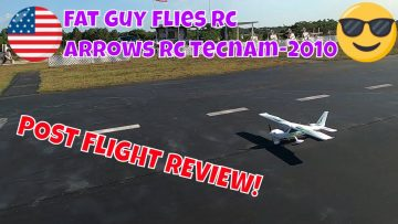 Fat Guy Flies Rc Review of One of the best Arrows Rc Products to date the Tecnam 2010 from HobbyZone