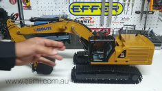 CSMI : KABOLITE 366 Rc excavator unboxing and review