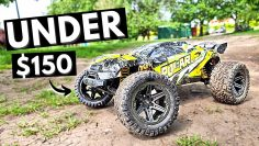 This BIG 1/8 RC Truck is less than $150/£100!!