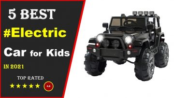 ✅ Top 5: Best Electric Car For Toddlers & Kids 2021 [Testat & Reviewed]