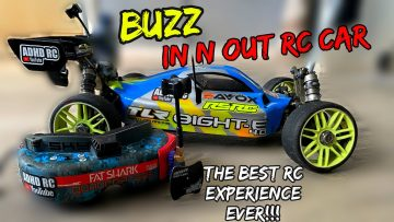 Crazy Car Driver Tries To Race FPV Rc Car In N Out Troll Prank!!!