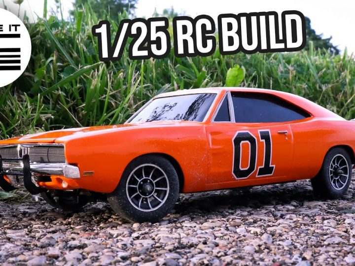 Let's Recreate the Dukes of Hazzard in 1/25 Scale RC