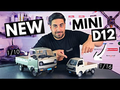 The NEW CXD Mini D12 is AMAZING! Our Favourite Scale Kei Truck is now 1/16!