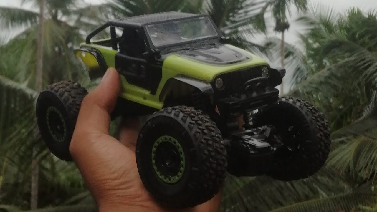rc rock crawler monster car unboxing and review (shamils vlog)