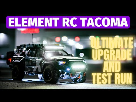 Element RC Knightrunner Toyota Tacoma RC Truck — ultimate scale truck build Part 1 of 2