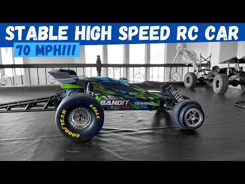 The BEST High Speed RC Car | Traxxas Bandit VXL Brushless 3S New Hop Ups | Traxxas Retail Store