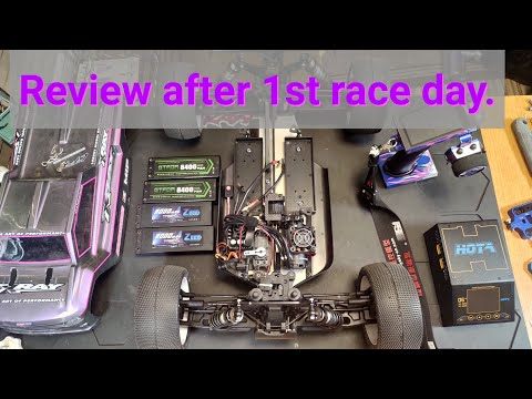 Xray XT8E 22 after 1st race review.