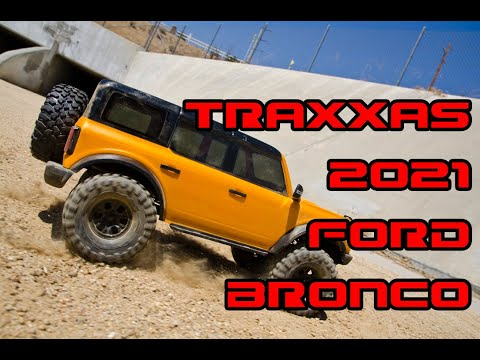 TRAXXAS 2021 FORD BRONCO REVIEW – VELOCITY RC CARS