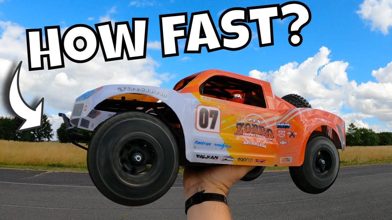 How FAST Is This NEW Budget Brushless RC Car from FTX? New Zorro.