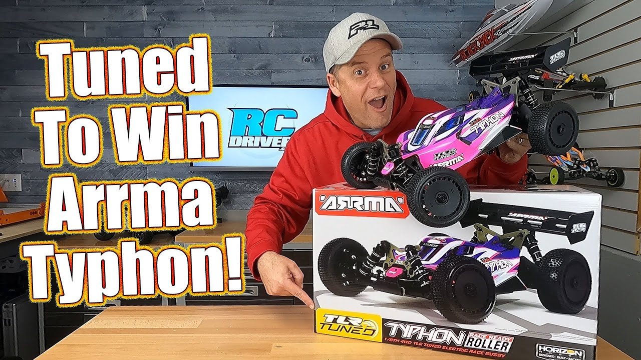 Raceable Basher RC Car! Arrma TLR Tuned Typhon 1/8-Scale Race Roller Buggy Review   RC Driver