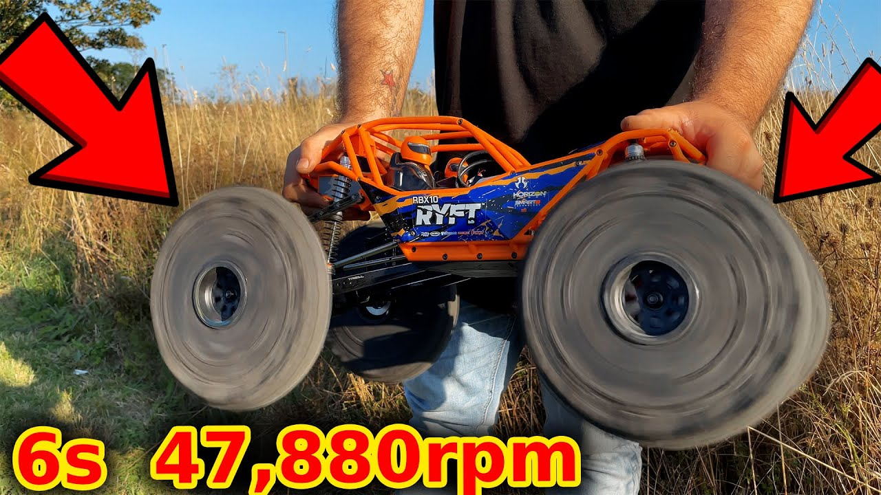 I made this RC 'crawler' too fast!!