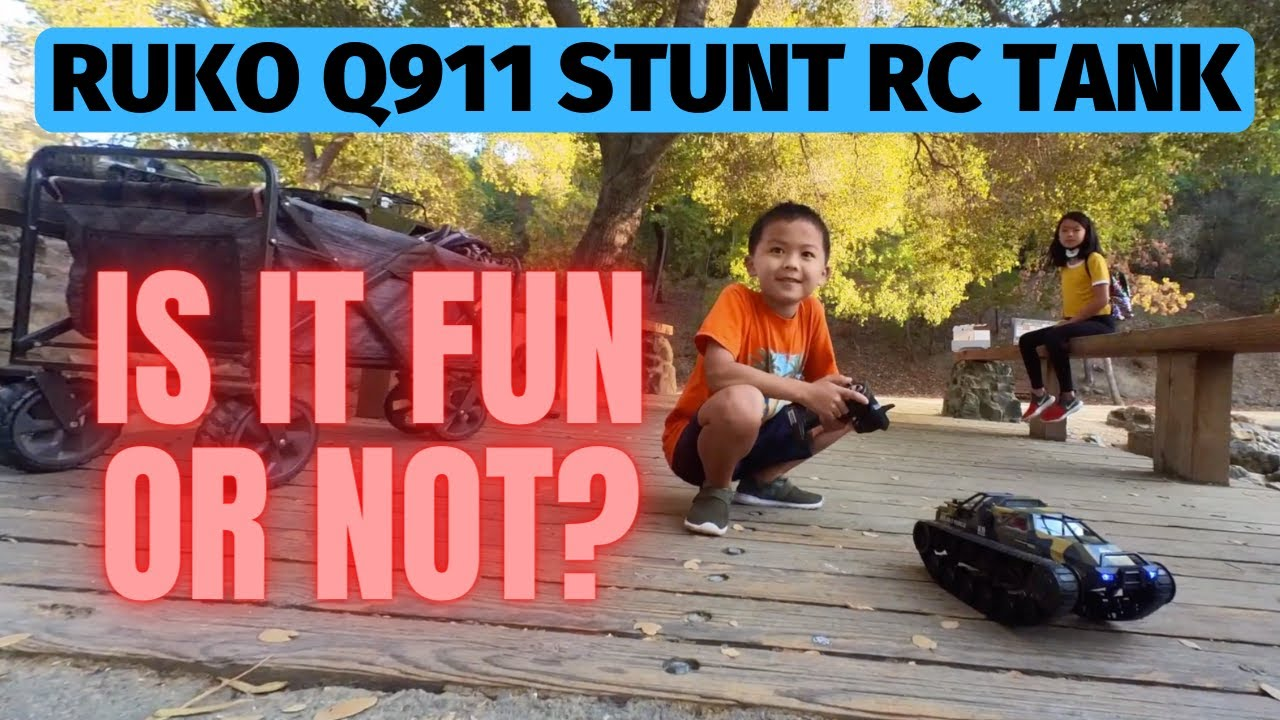 Ruko Q111 stunt rc tank – So much fun and best gift for xmas 2021!!