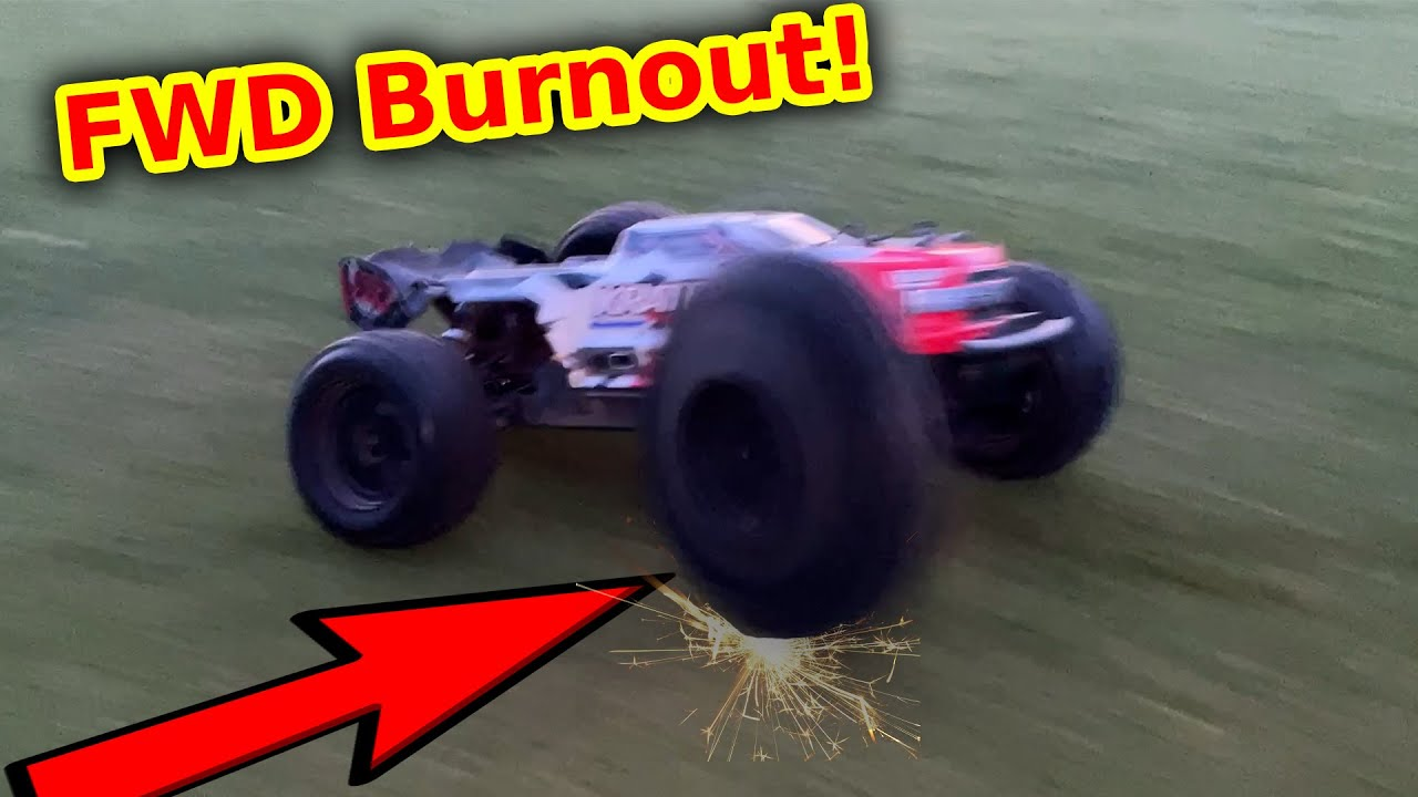 RC Car 4WD System Failure – this is why FWD sucks!!
