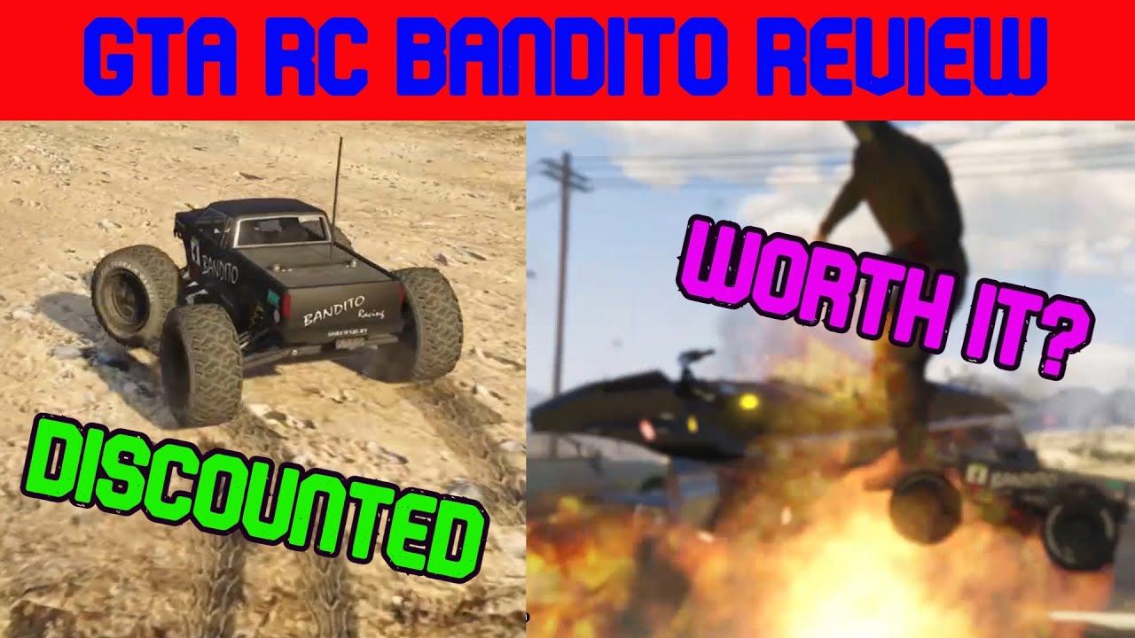 GTA Online Review/Guide – RC Bandito – Discounted – is it Worth it?