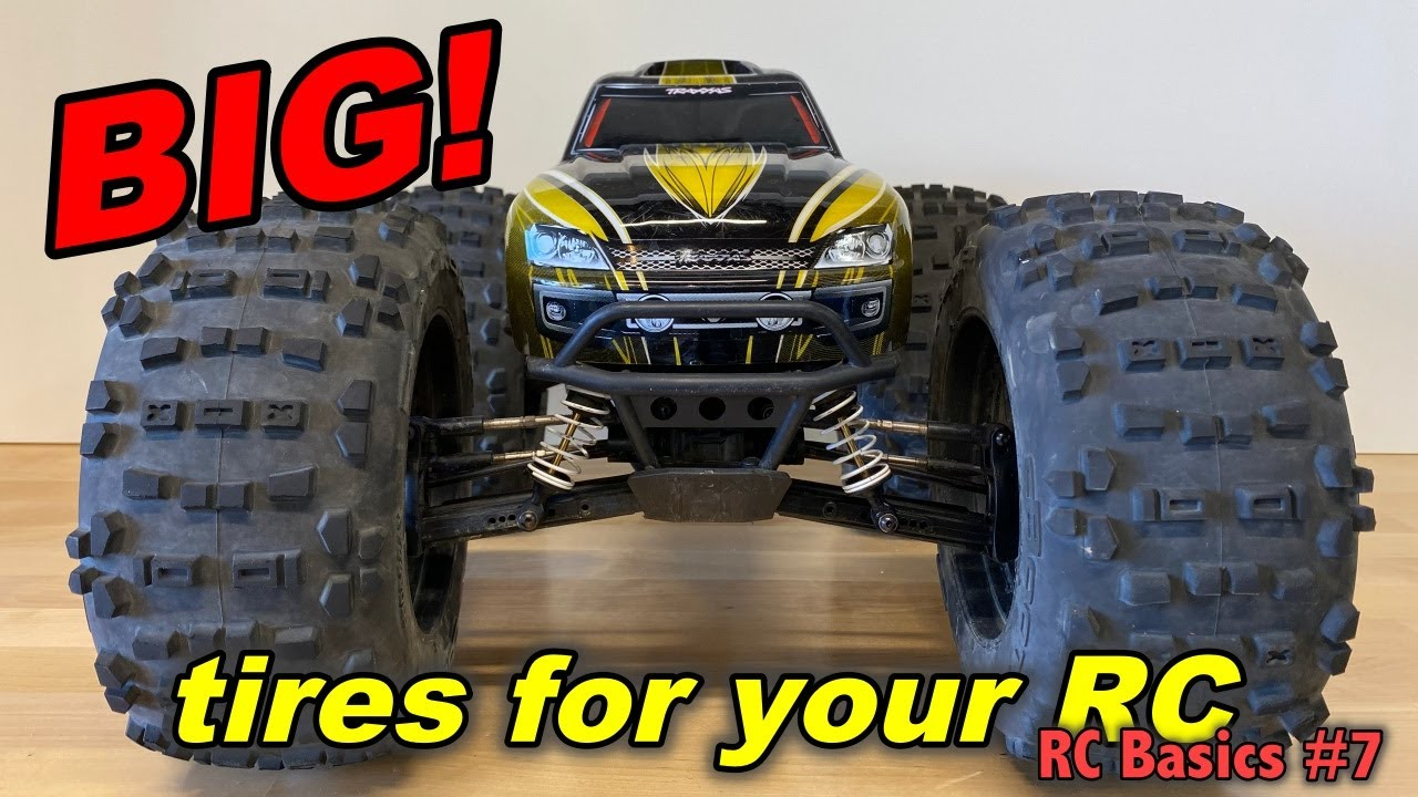 BIG! tires for your RC car (RC Basics #7)