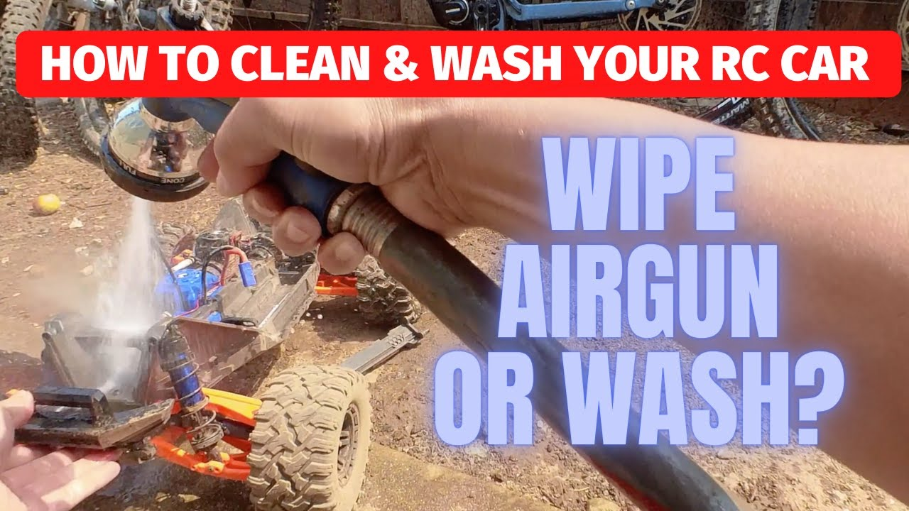 How to clean your rc car – best way to clean and wash your rc truck