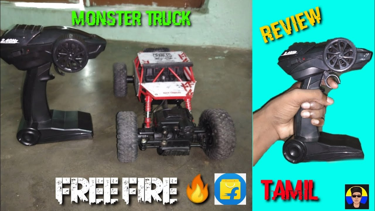 Monster Truck Rc car review full review in Tamil