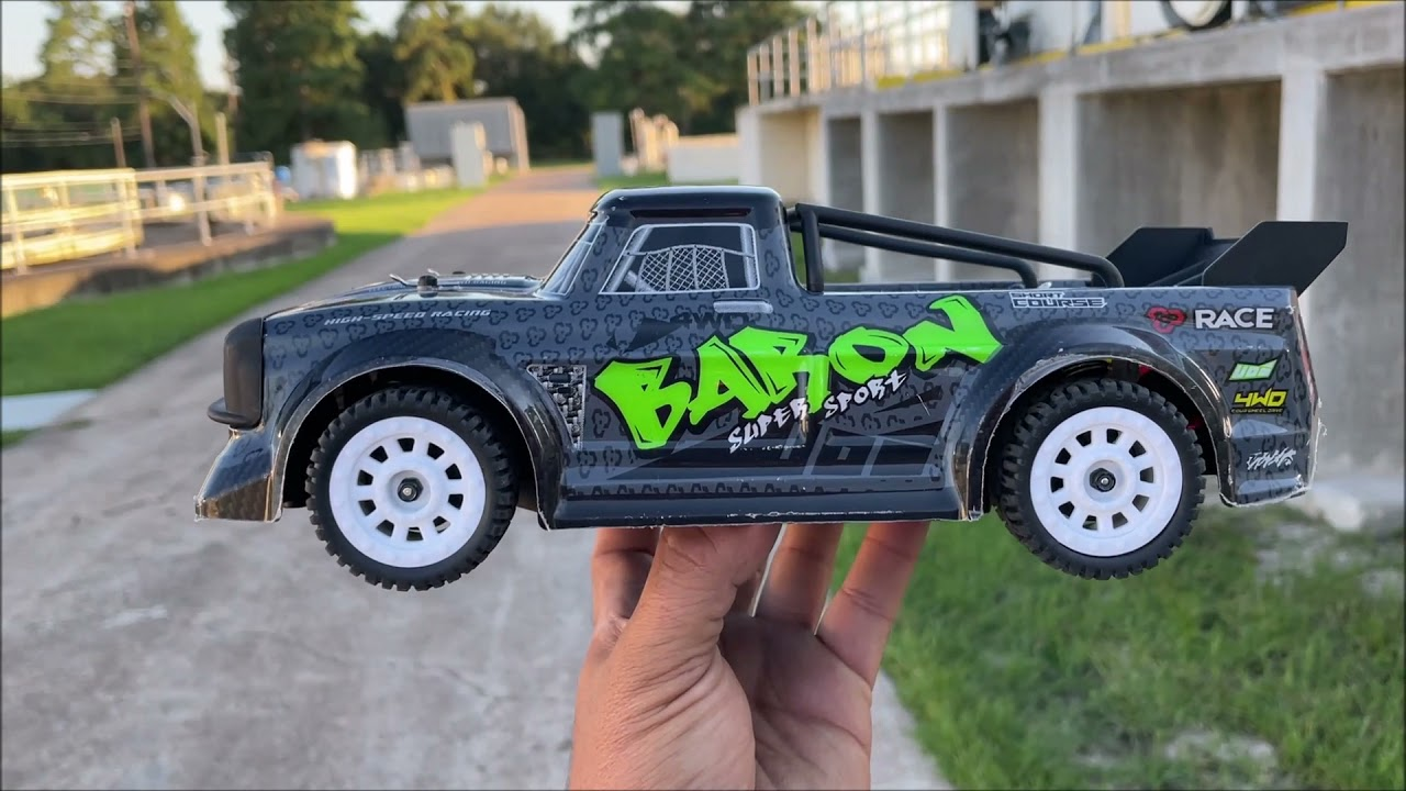 SG-1603 pinecone model RTR $62 CHEAP RC car REVIEW and RUN