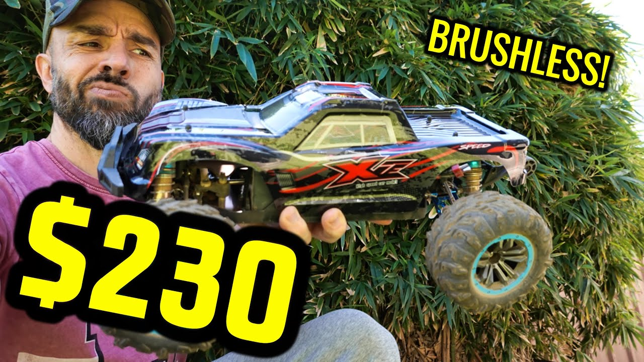 NEVER HEARD OF THIS BRUSHLESS RC CAR BEFORE, HAVE YOU? UNDER $250!