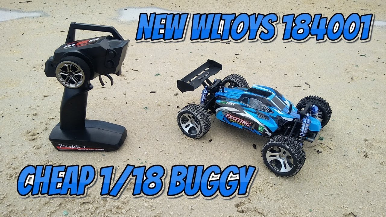 New Cheap WLtoys 184011 1/18 RC Buggy Review