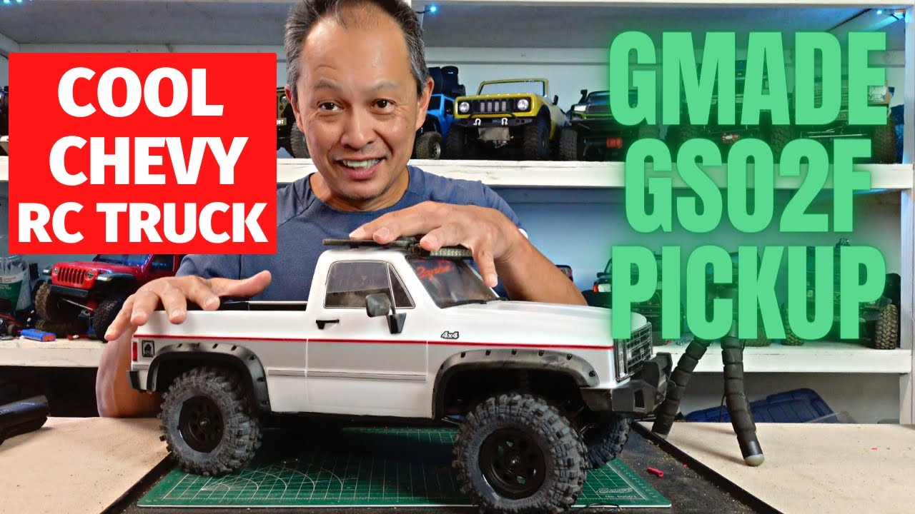 Gmade GS02 Buffalo Pickup rc truck — realistic performer
