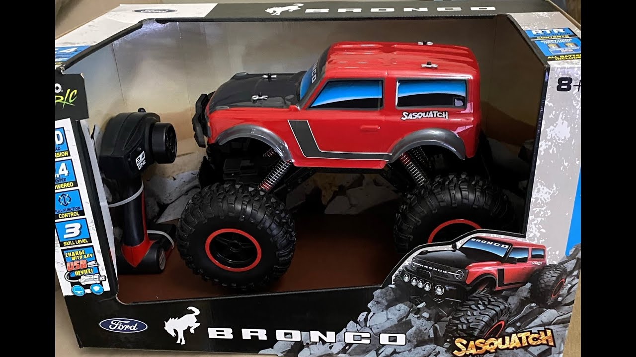 Maisto Ford Bronco Sasquatch RC Unboxing and Review