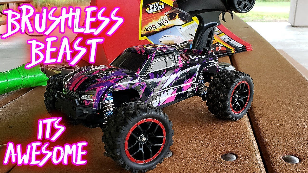 Haiboxing brushless 18859A 1/18 scale bash review