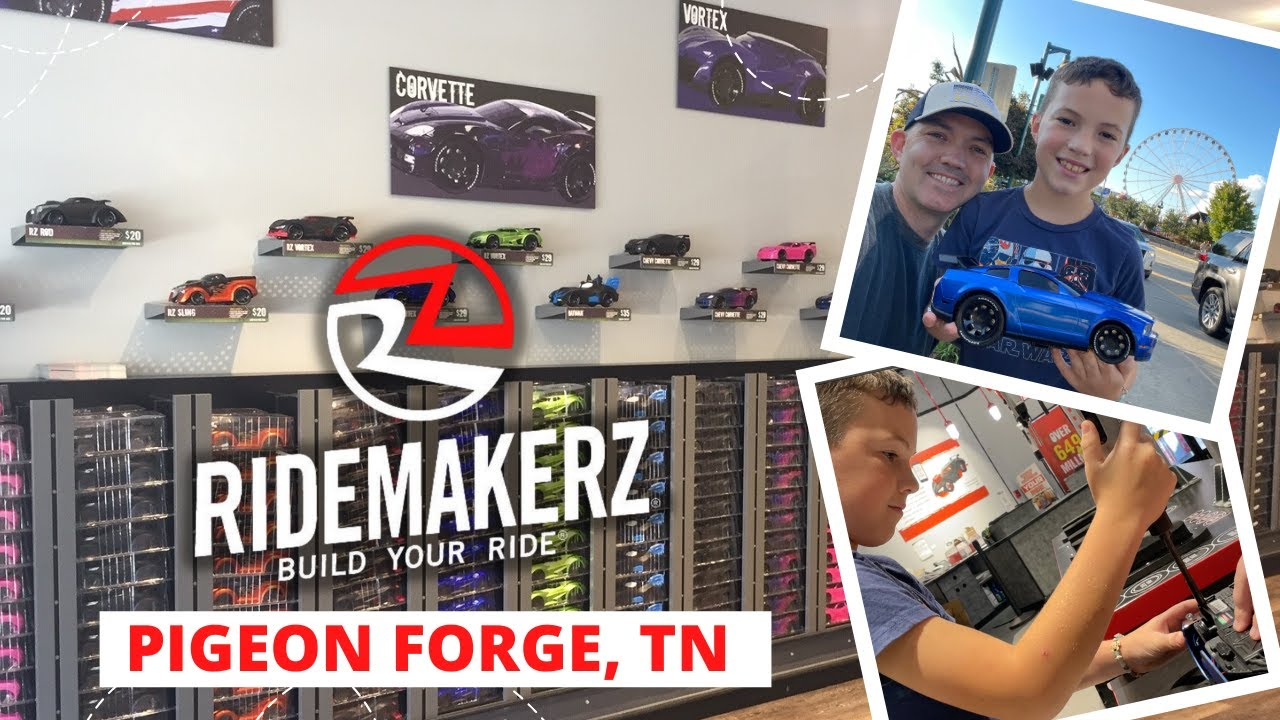 Build Your Own RC Car at The Island in Pigeon Forge, TN (RideMakerz Review)