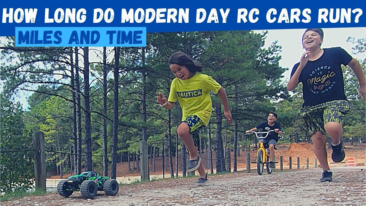 How Long Do Modern Day RC Car Batteries Last? | IMPROVED Power Systems and Batteries
