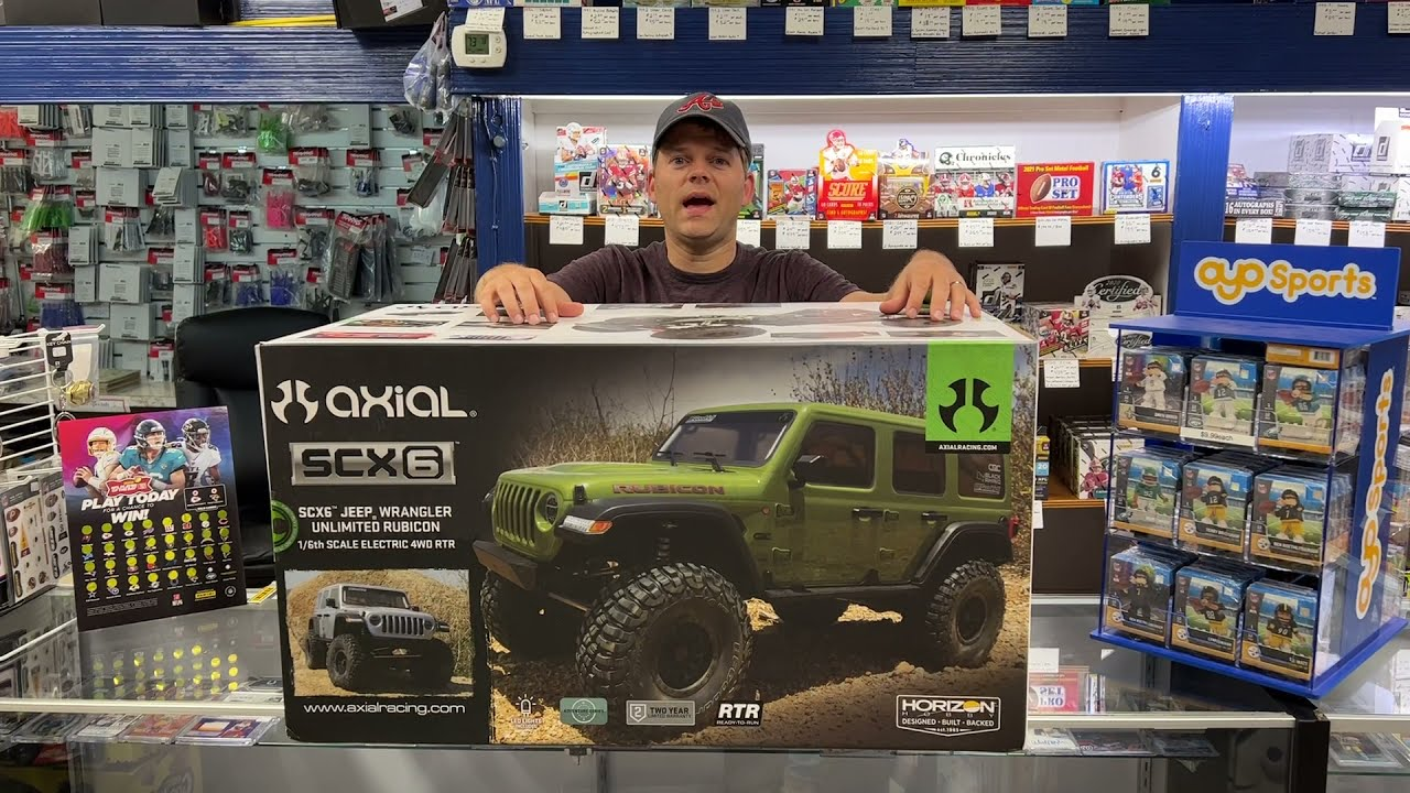 Axial SCX6 Jeep Wrangler 1/6 Crawler unboxing & review