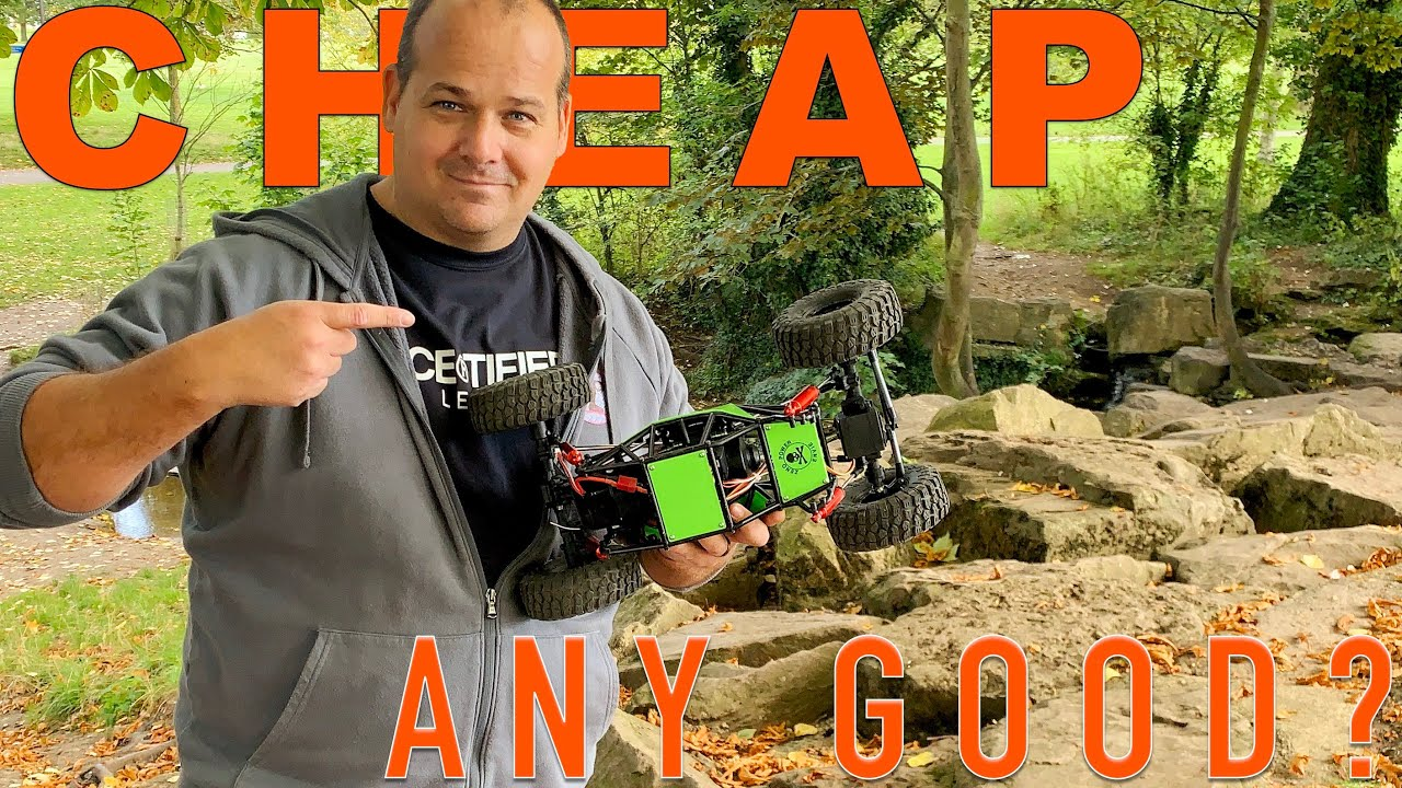 BUDGET RC competition crawler – Running review is it any good?