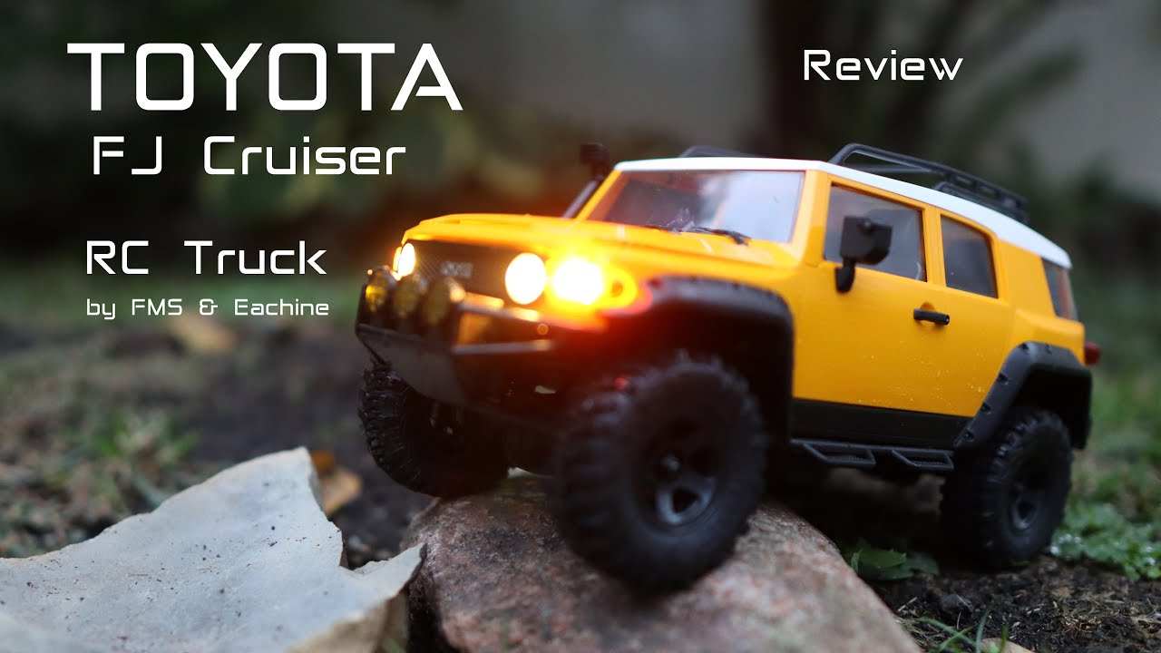 This Toyota FJ Cruiser is an RC Truck by FMS & Eachine – Review