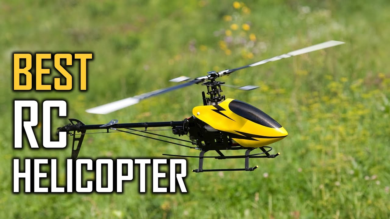 Best RC Helicopter Buying Guide- Top 6 Review [2021]