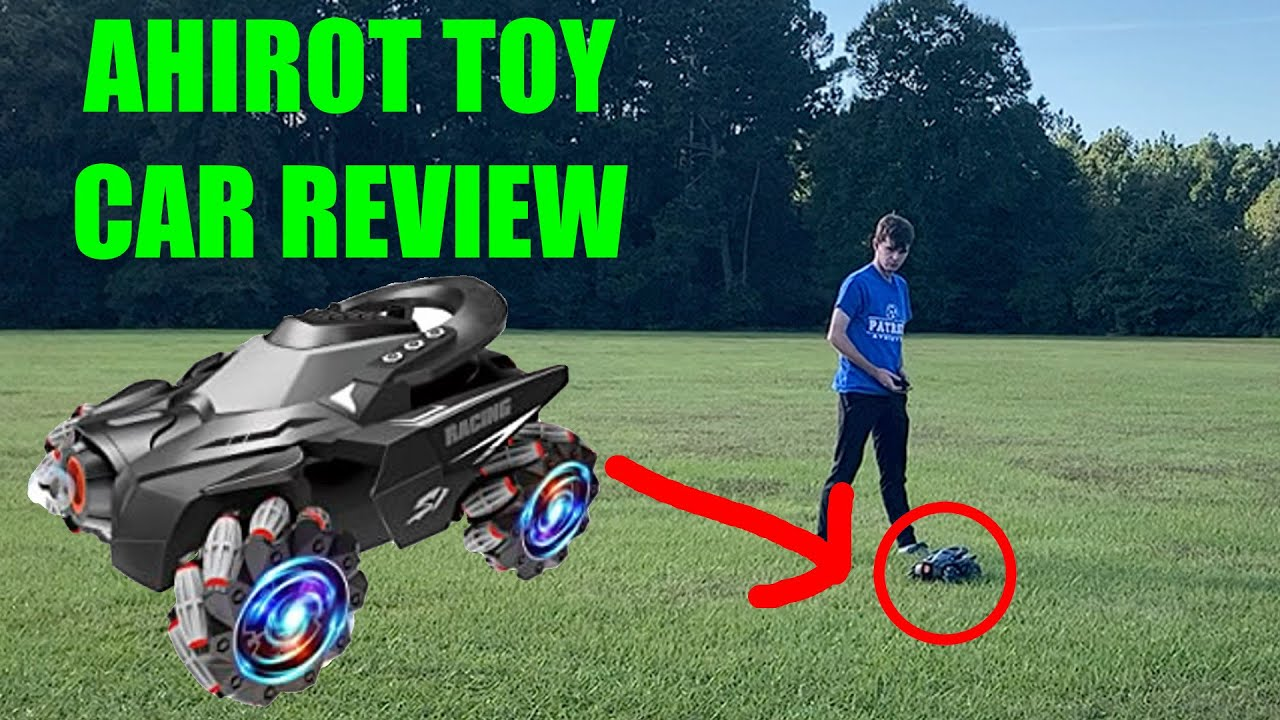 THE BEST TOY CAR FOR KIDS!?!? Ahirot RC Car Review