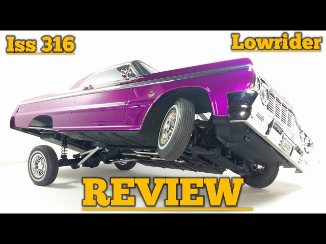 REDCAT [ RC 1964 Chevrolet Impala SS ] LOWRIDER, REVIEW purple candy and chrome Edition.